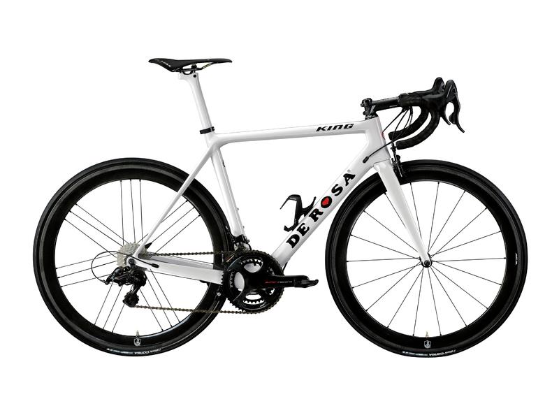 Cicli De RosaKING - BIANCO LUCIDO - Frame set