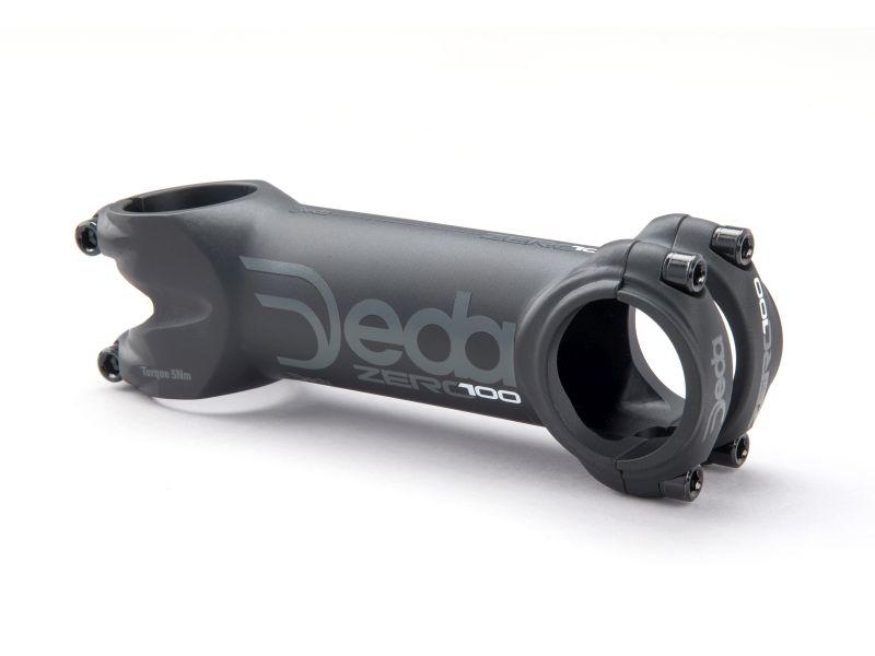 Deda Elementi ZERO100 stem/attacco 140 mm Black on Black (BOB), Alloy 2014