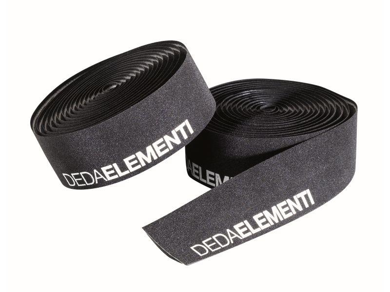 Deda ElementiSQUALO - ZWART/WIT - Extra Grip Stuurlint