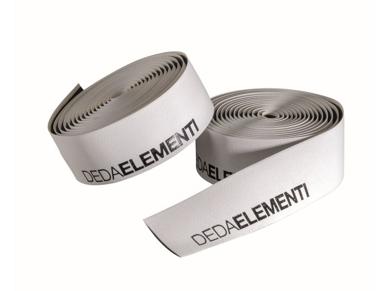 Deda Elementi SQUALO - WIT/ZWART - Extra Grip Stuurlint
