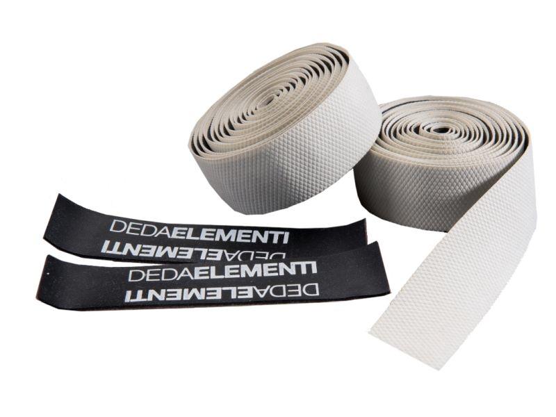 Deda ElementiGECO - WIT - RUBBER - Extra Grip Stuurlint