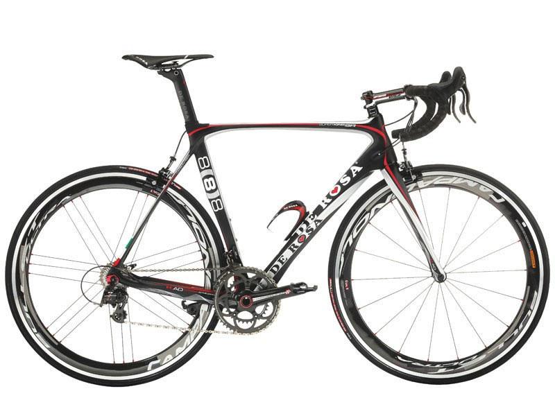 Cicli De RosaSUPERKING SR - NERO GRIGIO - Frame set MY14