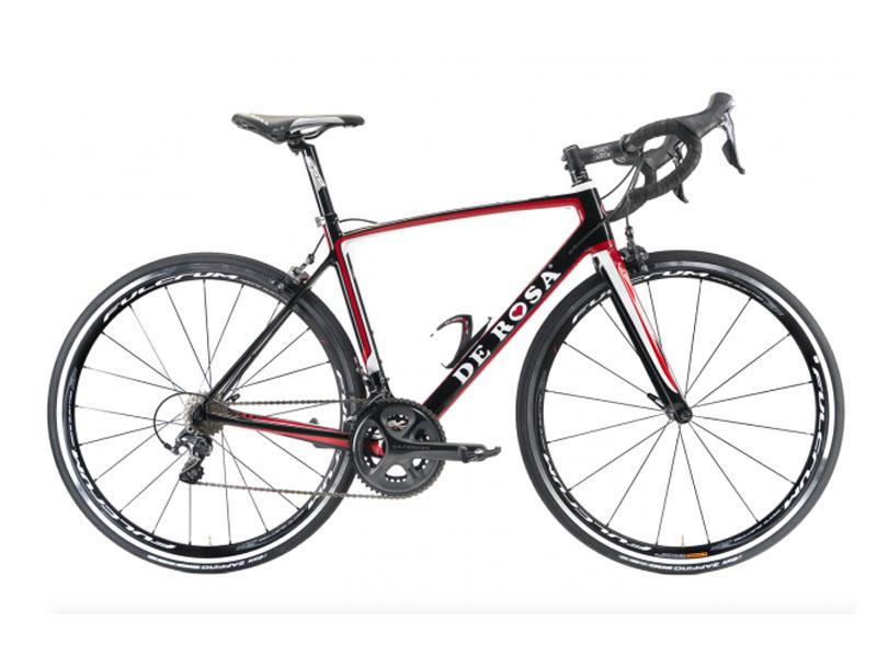 Cicli De RosaNICK - NERO ROSSO BIANCO - Frame set