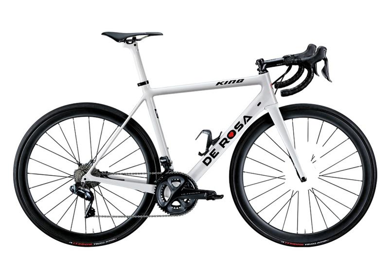 Cicli De RosaKING - BIANCA- Frame set