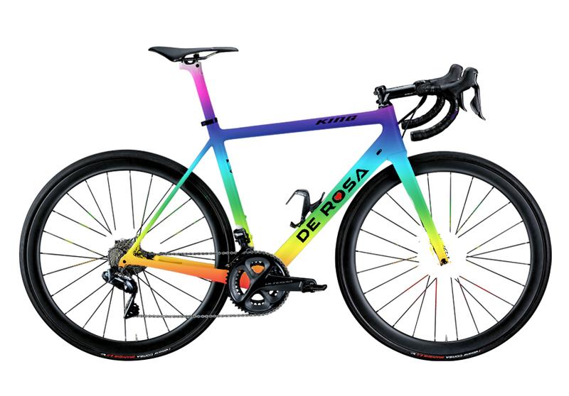 Cicli De RosaKING - CUSTOM PAINT  - Frame set