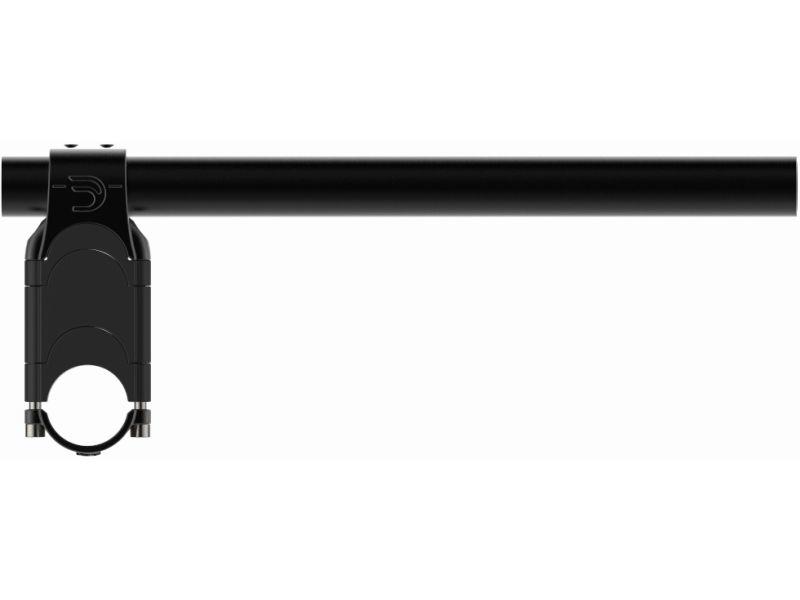 Deda Elementi PARABOLICA 0 ALTA, Straight bend extensions, 310mm, for 31,7