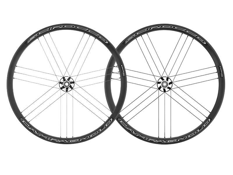 Campagnolo SCIROCCO DB 2-Way Fit Ready FRONT HH12/HH15+REAR HH12-142/13