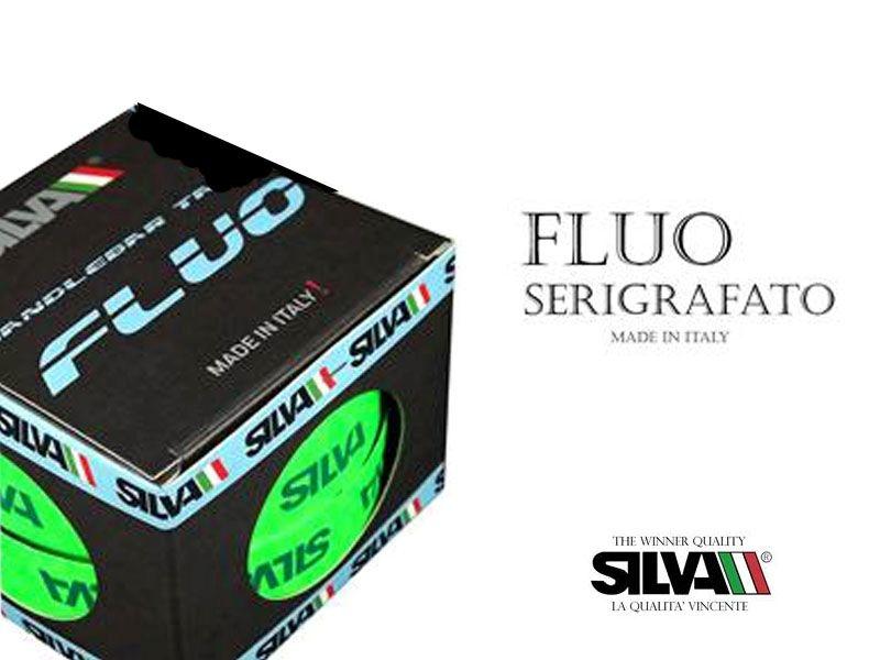 SilvaFLUO SILKSCREENED - FLUO GROEN - stuurlint