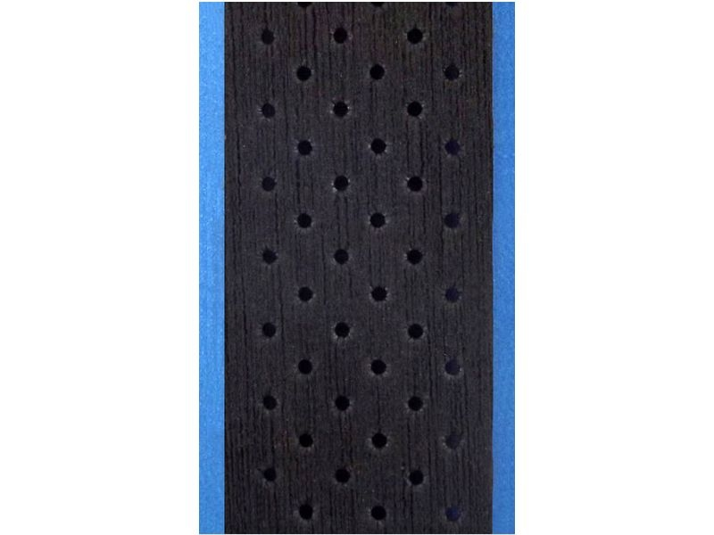 Silva silva REVERSO 35mm - BLACK/BLUE - stuurlint