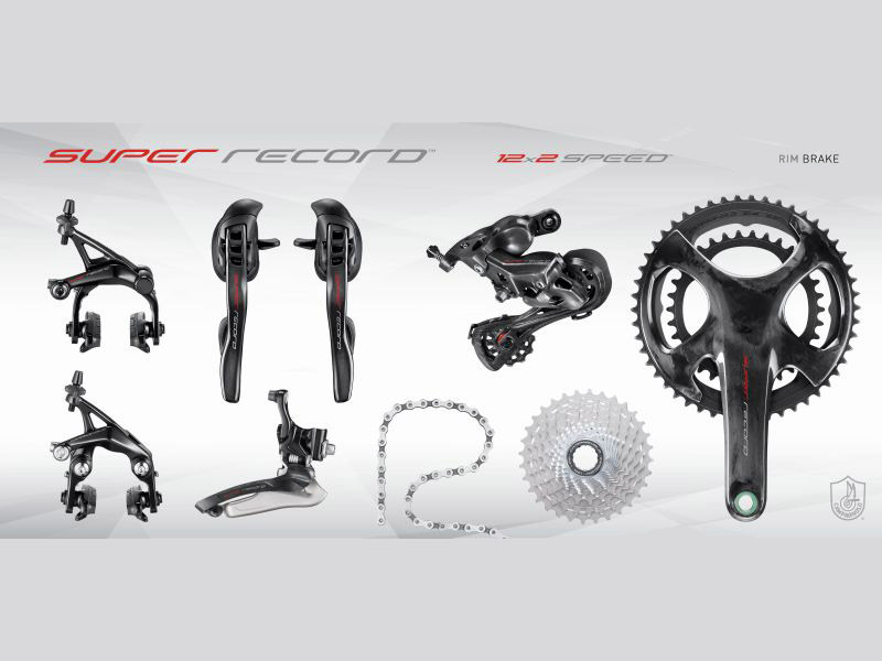 Campagnolo SUPER RECORD 12 - Groupset