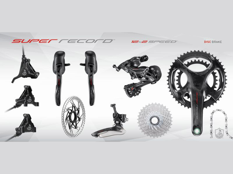 Campagnolo SUPER RECORD 12 - DISC Groupset