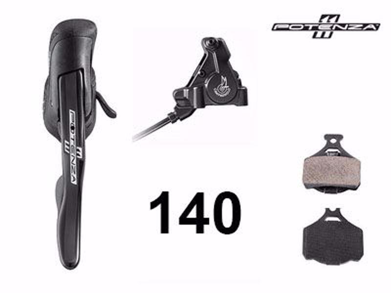 Campagnolo POTENZA 11 (HO) right EP + 140 rear caliper