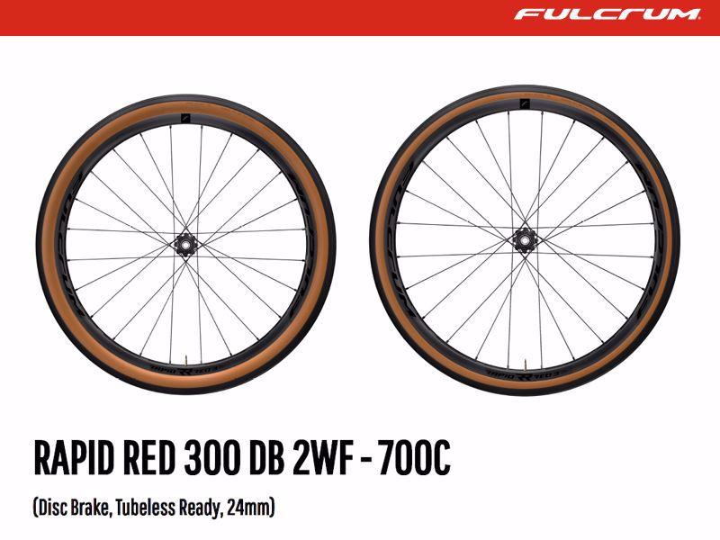 Cicli De Rosa Rapid Red 300DB - Fulcrum Gravel