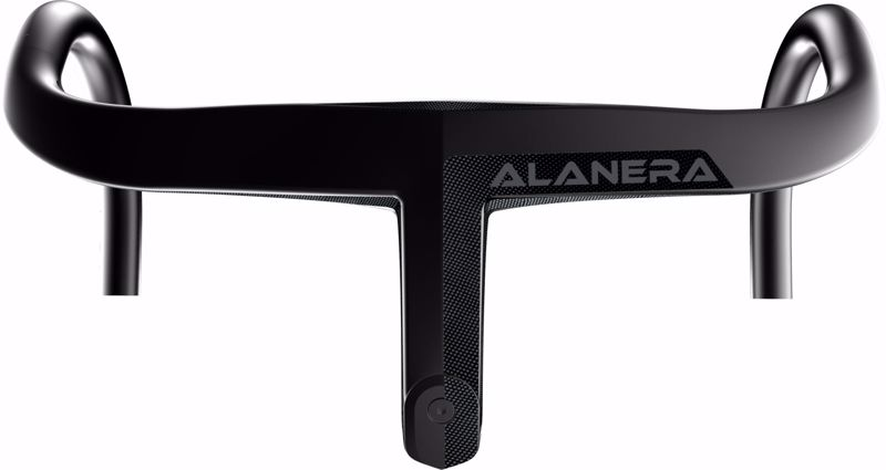 Deda Elementi ALANERA DCR Integrated Carbon handlebar, RHM, size 100X42, P