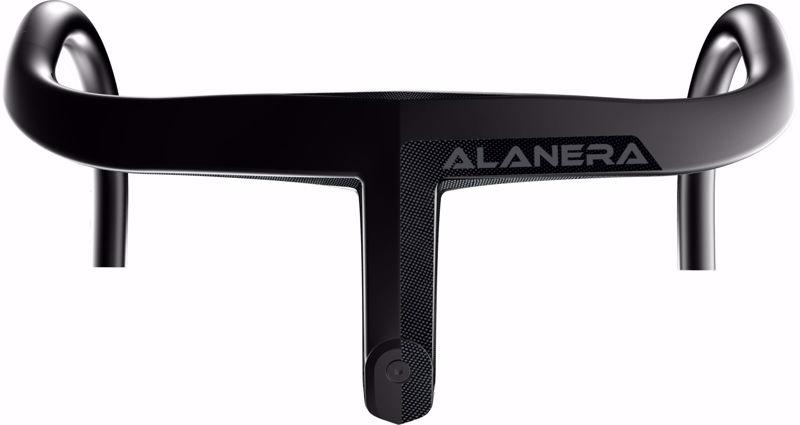 Deda Elementi ALANERA DCR Integrated Carbon handlebar, RHM, size 120X46, P