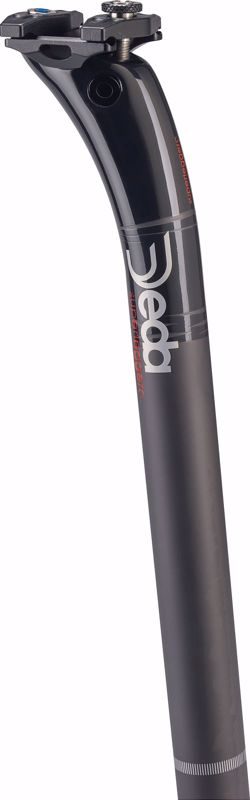 Deda Elementi SUPERLEGGERO carbon seatpost 31,6 TEAM  finish, 400 mm leng