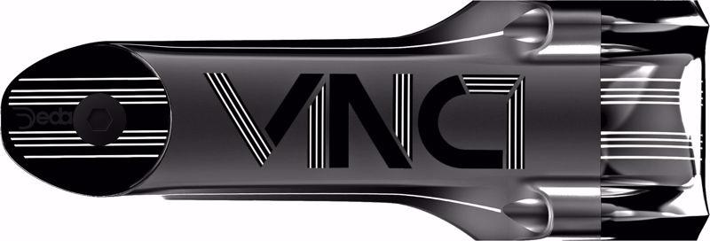 Deda Elementi VINCI Attacco/Stem 130mm, POB finish, Aluminum 2014, 73°, ch