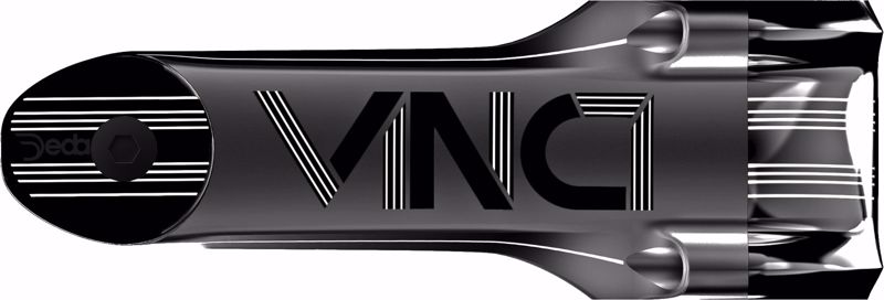 Deda Elementi VINCI Attacco/Stem 90mm, POB finish, Aluminum 2014, 73°, chr