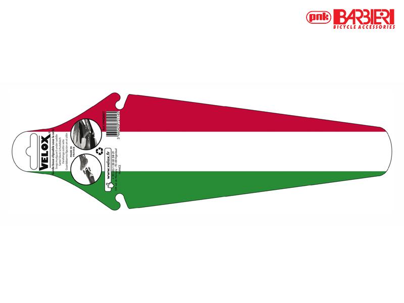 BarbieriVOUWBAAR SPATBORD voor onder zadel - ITA FLAG