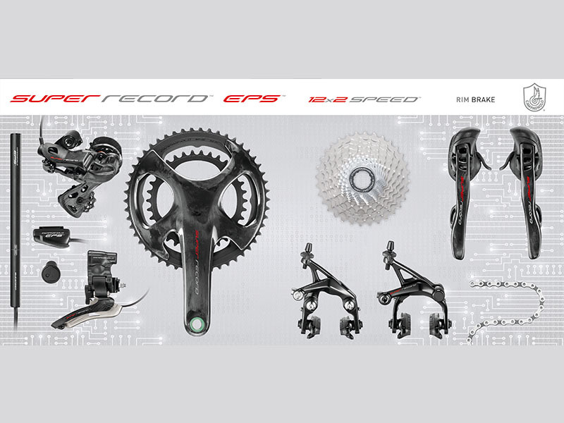 CampagnoloSUPER RECORD EPS 12 - Groepset - INT IF