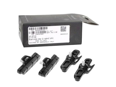 BR-SR140 - black brake shoe (2 right + 2 left)