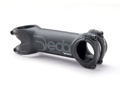 ZERO100 stem/attacco 90 mm Black on Black (BOB), Alloy 2014,