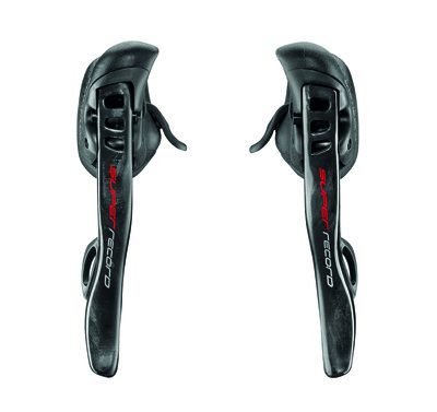SUPER RECORD EPS 12s Ergopower shifiting levers