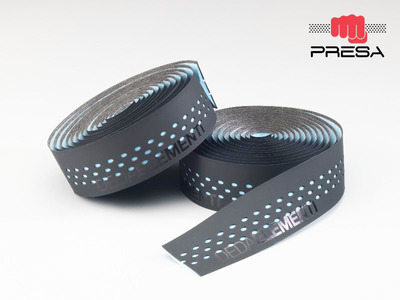 PRESA TAPE , NASTRO, BLACK/BLU SKY, double layer, perforated