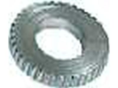 525 - silva Knurled Washer - geribbelde ring rem