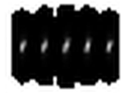 649 -  Protectierubbers - BLACK (100 PCS) - Balhoofdbeschermrubber