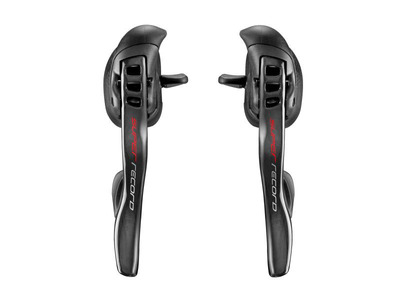 SUPER RECORD Ultra Shift 12s Ergopower shifiting levers