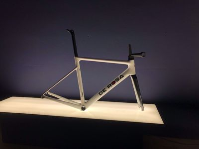 ❤ MERAK DISC - BIANCO STEALTH - Frame set - NEW 21