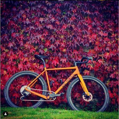 DE ROSA - GRAVEL CARBON - ORANGE DIABLO