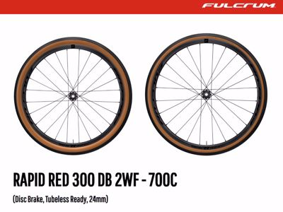 Rapid Red 300DB - Fulcrum Gravel