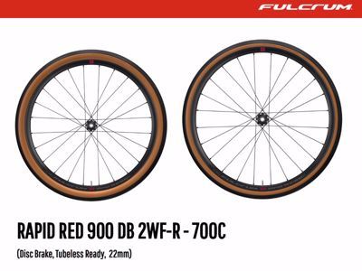 Rapid Red 900DB - Fulcrum Gravel