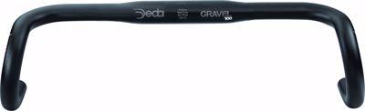 GRAVEL100 RHM handlebar 42CM Black on Black (BOB), Alloy 606