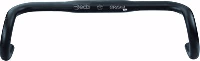 GRAVEL100 RHM handlebar 46CM Black on Black (BOB), Alloy 606