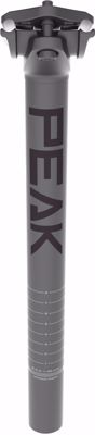 MUD PEAK Seatpost, AL6061; 30.9mm, 400mm length, 20mm setba