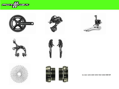 POTENZA 11 - GROUPSET - campagnolo