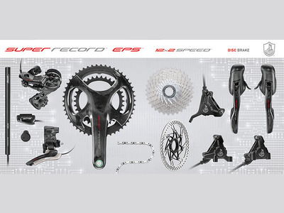 SUPER RECORD EPS 12 - DISC Groupset