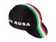 352 - Black cap with italian flag - De Rosa 2016
