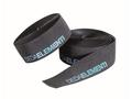 SQUALO - ZWART/BLAUW - Extra Grip Stuurlint