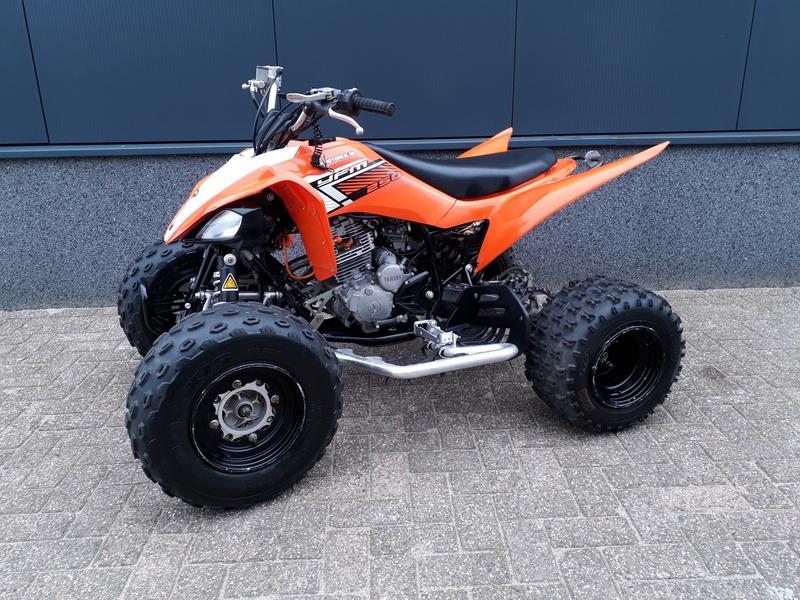 VERKOCHT......Yamaha  YFM 250 Raptor 2010