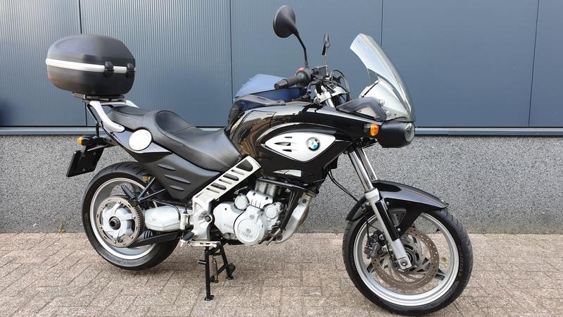 VERKOCHT....BMW Scarver  F 650 CS