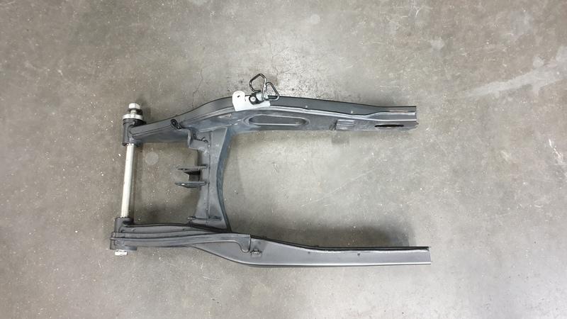 Yamaha MT-07 Achterbrug