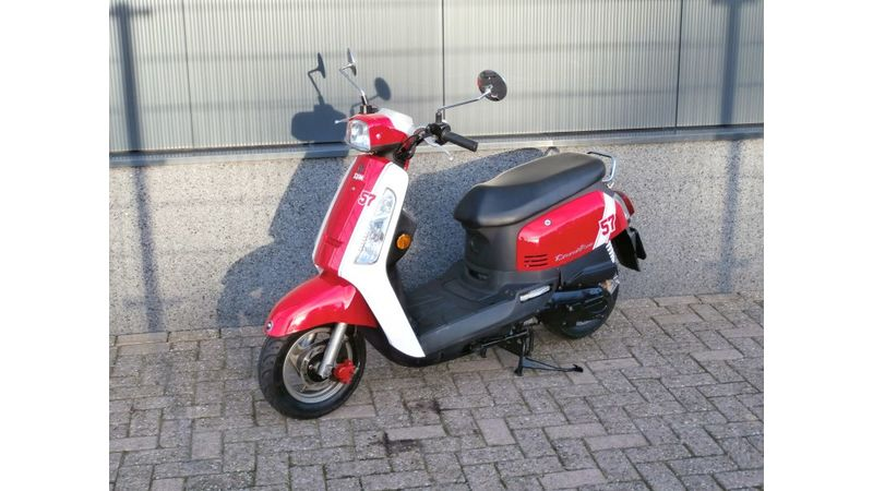VERKOCHTSYM Tonik rood-wit 25 km/h