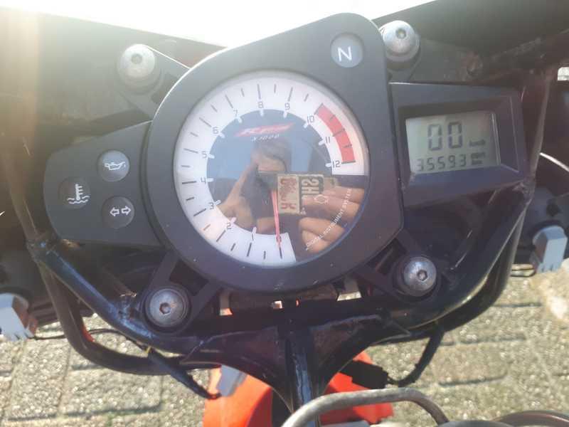 YamahaTZR 50 Km. teller / dashboard