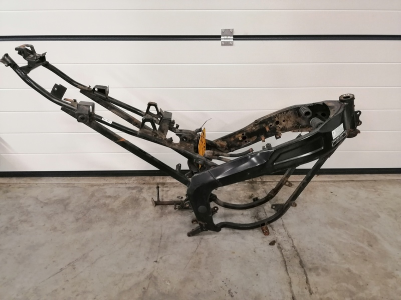YamahaTZR 50 Frame + kenteken