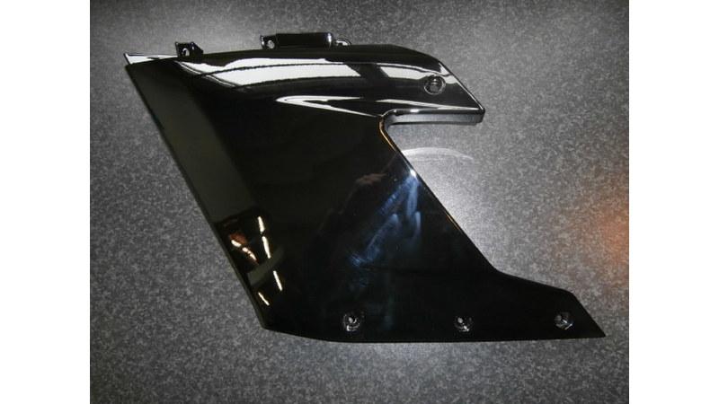 DerbiGPR 50 Racing zijscherm links zwart (nieuw)