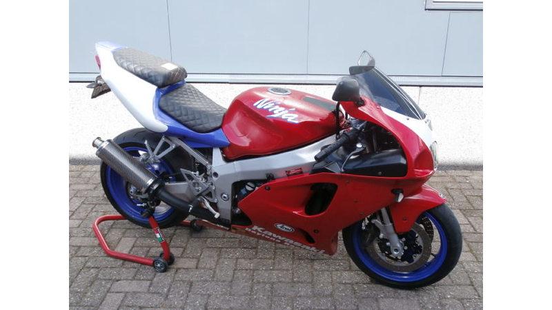 VERKOCHT...Kawasaki  ZX-7R  rood 1997